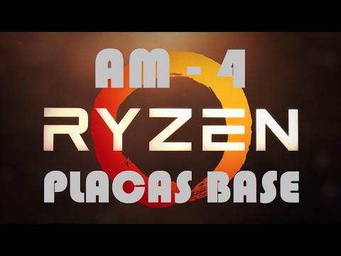AMD RYZEN Placas Base Socket AM4 Información y modelos  (Español)