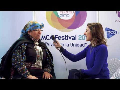 Entrevista a María Quiñelén en MCA Festival 2019