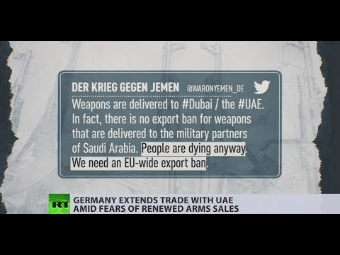 Renewed ties: Germany started selling weapons to UAE after previous cutbacks in exports