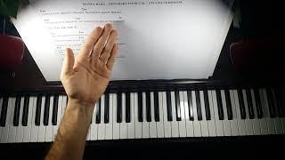 Dönersen Islık Çal piyano cover Piyano Eşliği Cm Do Minör