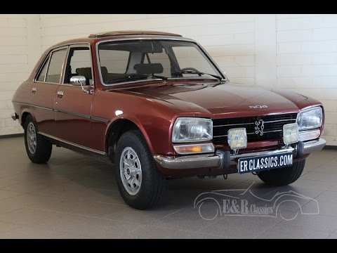 Peugeot 504 1978 part restored very good condition orig 110300km -VIDEO- www.ERclassics.com