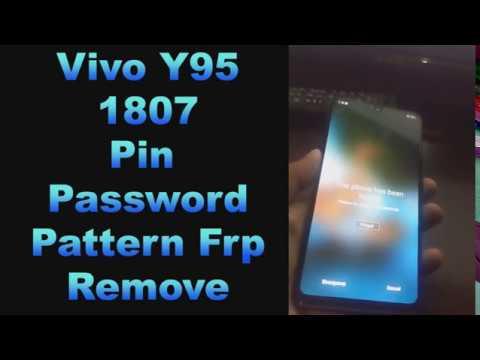 Vivo 1807 Y95, Y91 Pattern, Pin, Fingerpring & FRP Lock