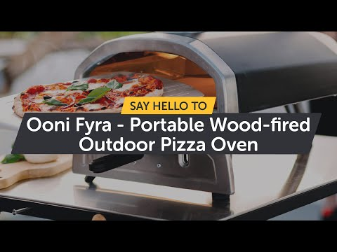 Say hello to Ooni Fyra - Portable Wood-fired Outdoor Pizza Oven!