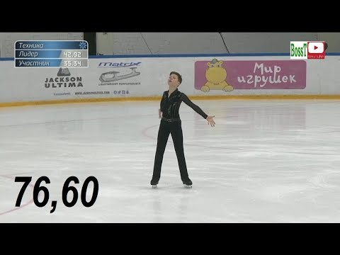 Andrey KUTOVOY (c. Buyanova) - SP Overview (Rus Jr Nats 2019)
