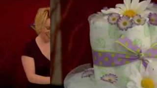 Make This Baby Shower Diaper Cake