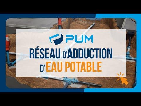 Réseau d'adduction d'eau potable