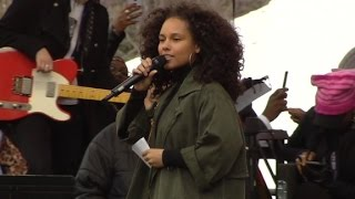 Alicia Keys: We will not be stepped on