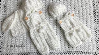 Easy Crochet Baby Overall/craft & Crochet Baby Rompers
