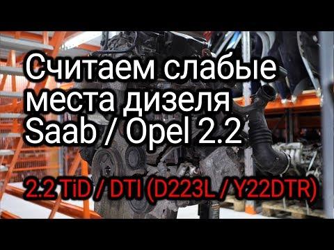 Фото к видео: Замечательный дизель Opel 2.2 DTI (Y22DTR) для Saab 9-5 2.2 TiD. Откуда у него столько проблем?