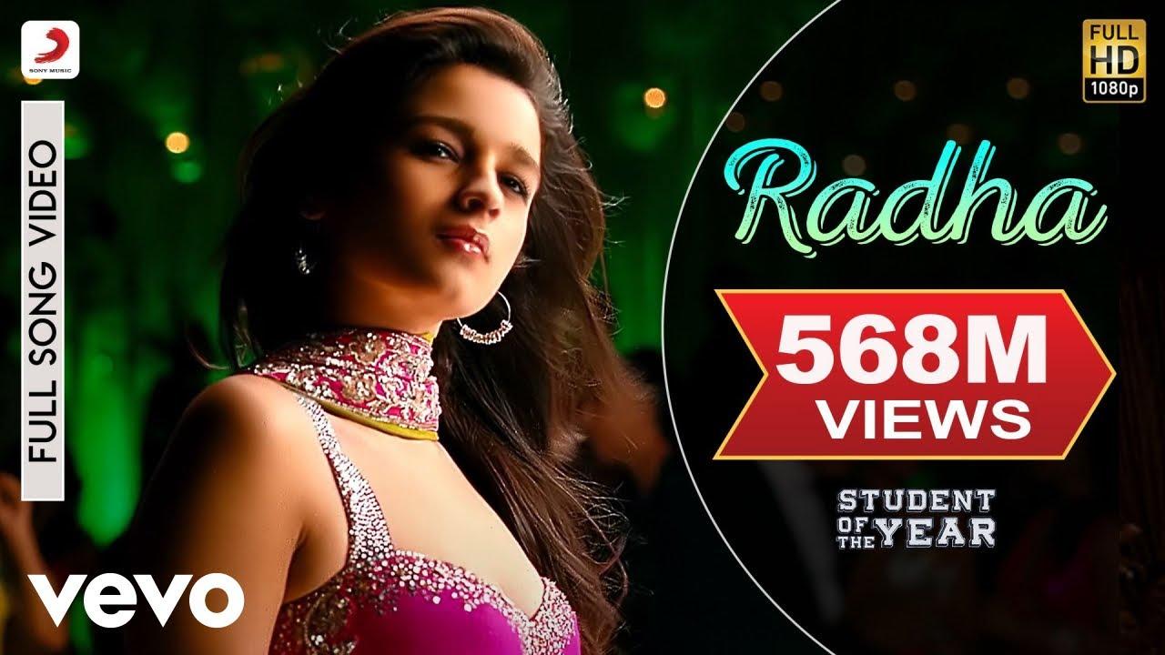 RADHA LYRICS – Student of The Year | Shreya Ghoshal, Vishal-Shekahr Feat. Udit Narayan