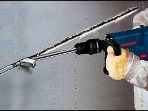 Штробы – штроба под электропроводку, трубопровод
