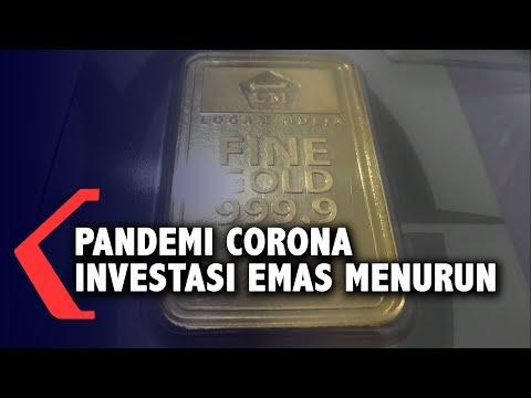 Minat Masyarakat Investasi Emas Selama Pandemi Menurun
