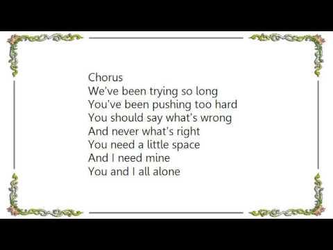 Hootie  the Blowfish - Space Lyrics