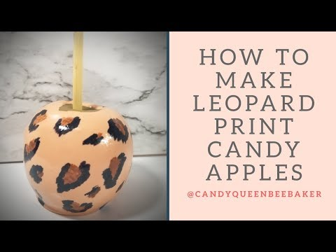 Download How to Achieve a Leopard print Candy Apple HD Mp4 3GP Video and MP3