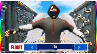 Flying ONLY Deathrun!! (Fortnite Creative Mode)