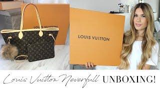 Louis Vuitton Neverfull MM Monogram Unboxing + Bag Charm!