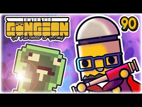 He Does a Clone Run. | Part 90 | Let's Play: Enter the Gungeon: Farewell to Arms | PC HD