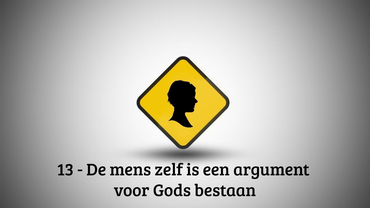 VBNB – 13. De mens zelf is een argument voor Gods bestaan