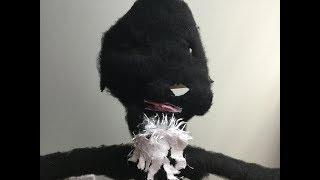 mechanical ape puppet!