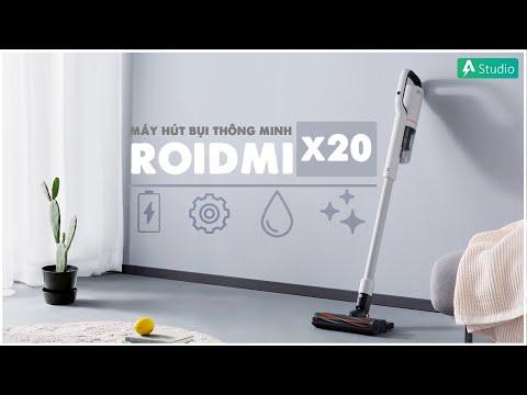 Trên tay Roidmi x20| Máy hút bụi thông minh cầm tay tốt nhất hiện nay ???