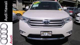 preview picture of video '2012 Toyota Highlander Honolulu, HI #E941 - SOLD'