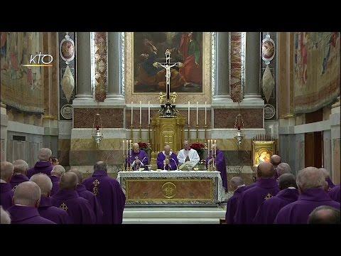 Messe du Pape François avec les Cardinaux