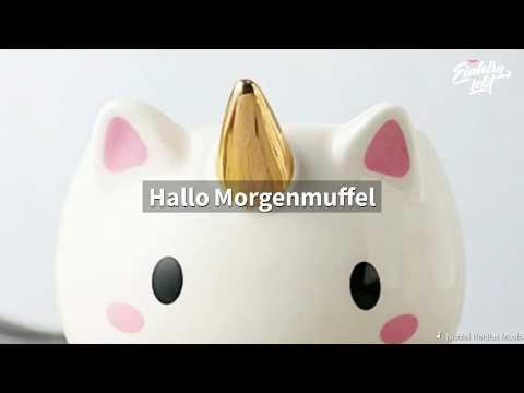 Einhorn 3D Tasse - ideal zum Einhorn Kuchen   mein-einhorn-lebt