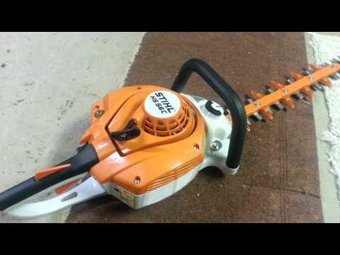 STIHL HS 56C HEDGE TRIMMER REVIEW