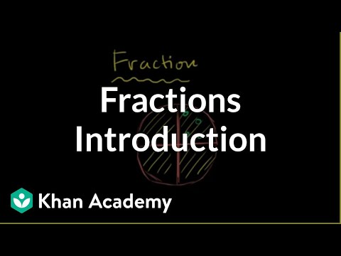 More about fractions (video) Fractions Khan Academy