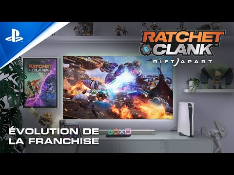 Evolution de la franchise de Ratchet & Clank : Rift Apart