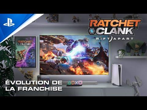 Musique de la pub PlayStation Ratchet & Clank: Rift Apart | Évolution de la franchise | De la PS2 à la PS5 Mai 2021