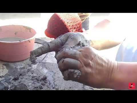 La mezcla perfecta de arena y arcilla para la elaboración de platos, ollas etc.