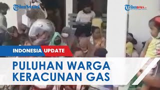 Keracunan Gas Caustic Soda dari Pabrik, Puluhan Warga Desa di Karawang Dilarikan ke Rumah Sakit