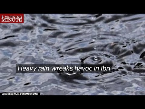 Heavy rain wreaks havoc in Ibri