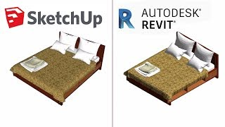 Revit Architecture | Convert SketchUp Models Into Revit(With Materials)