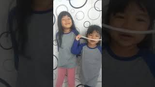 Echa&Kia , Nyanyi Muhammad (SAW) Idolaku Kayak AISHWA NAHLA