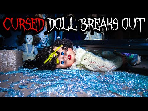 Cursed Doll Breaks Out At Haunted House