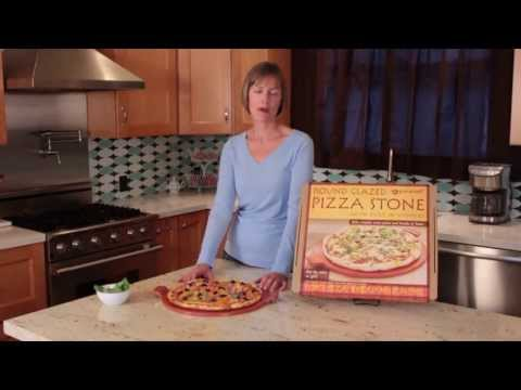 PizzaCraft Glazed Pizza Stone