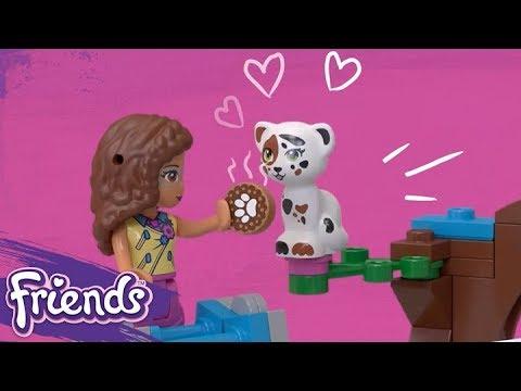 Vidéo LEGO Friends 41333 : Le véhicule de mission d'Olivia