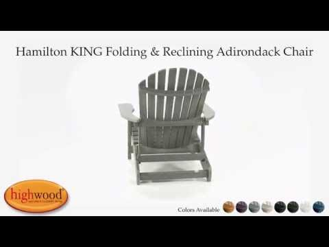 Highwood Adirondack Chair Rattan Chairs Ikea King Sized Folding And Reclining Hamilton