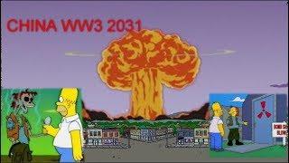 Simpsons Predicting WW3 .. World War 3   2019