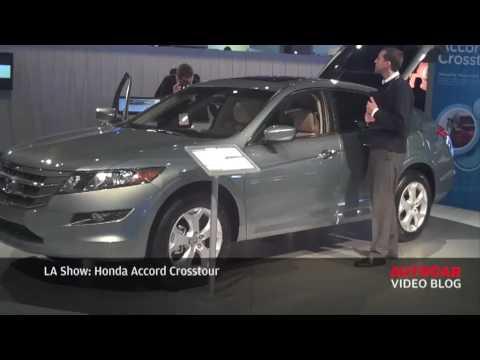 LA Motor Show: Honda Crosstour by autocar.co.uk