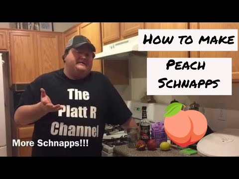 How to make Peach Schnapps