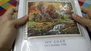 Flosstube #1 - My Whole Collection Of Cross Stitch Kits (Dimensions, Joy Sunday, Riolis, Disney...)