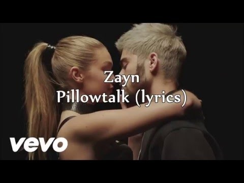 ZAYN – PILLOWTALK (female version) - with lyrics