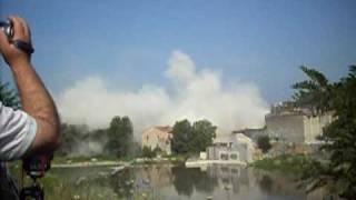 preview picture of video 'Pastificio ponte - demolizione'