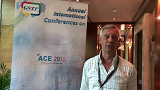 Prof. Tony Thorpe at ACE Conference 2018 by GSTF Singapore