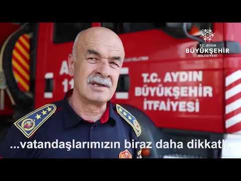 Aydın Büyükşehir İtfaiye Daire Başkanı Serdar Adanırdan yaz ayları için uyarı