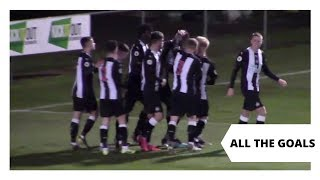 Round of the goals from the last 6 NUFC U23 games
