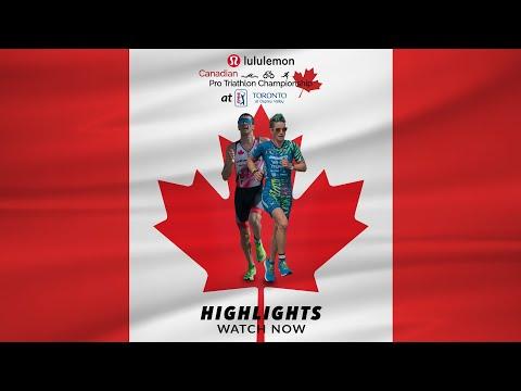 Canadian Pro Triathlon Championship photos and video